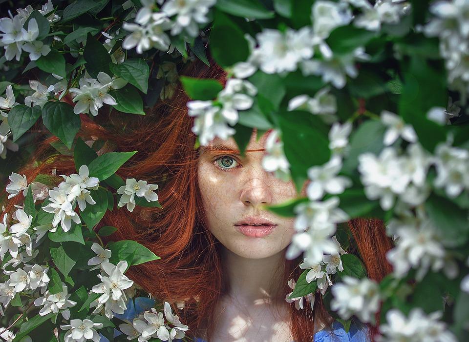 žena příroda
