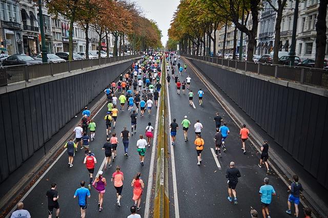 maraton na ulici
